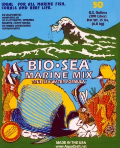 BIO-SEA® MARINEMIX for 50 Gallon Tank